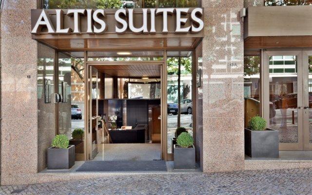 Отель Altis Suites вид на фасад