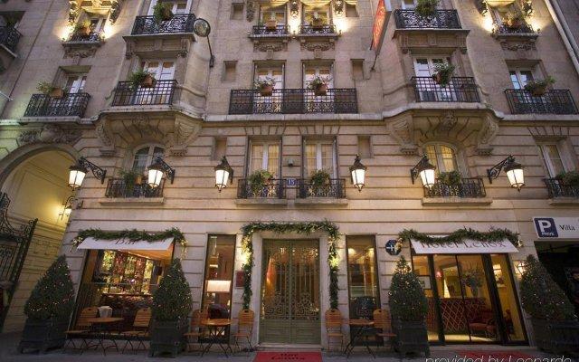 Отель Lenox Montparnasse Hotel Франция, Париж - 1 отзыв об отеле, цены и фото номеров - забронировать отель Lenox Montparnasse Hotel онлайн вид на фасад