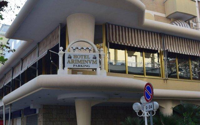 Hotel Ariminum вид на фасад