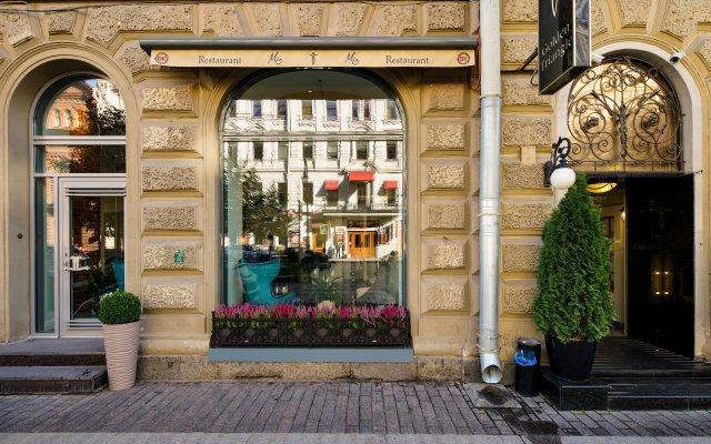 Бутик-Отель Золотой Треугольник вид на фасад