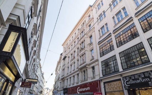 Апартаменты Singerstraße Luxury Apartment Вена вид на фасад