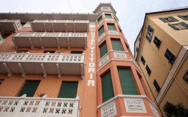 Отель Vittoria & Orlandini Италия, Генуя - 8 отзывов об отеле, цены и фото номеров - забронировать отель Vittoria & Orlandini онлайн вид на фасад