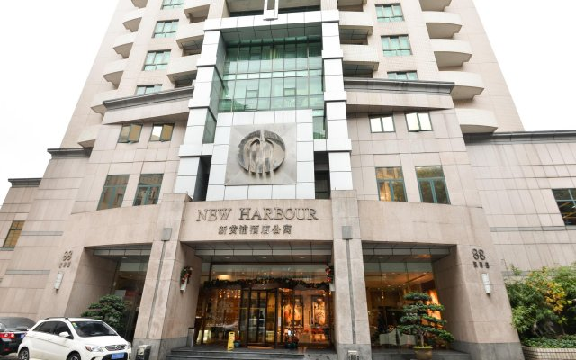Отель New Harbour Service Apartments Китай, Шанхай - 3 отзыва об отеле, цены и фото номеров - забронировать отель New Harbour Service Apartments онлайн вид на фасад