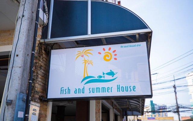 Отель Fish and summer House Таиланд, Пхукет - отзывы, цены и фото номеров - забронировать отель Fish and summer House онлайн вид на фасад