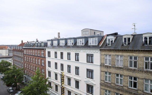 Best Western Plus Hotel City Copenhagen вид на фасад