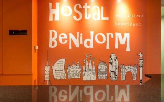 Отель Hostal Benidorm вид на фасад