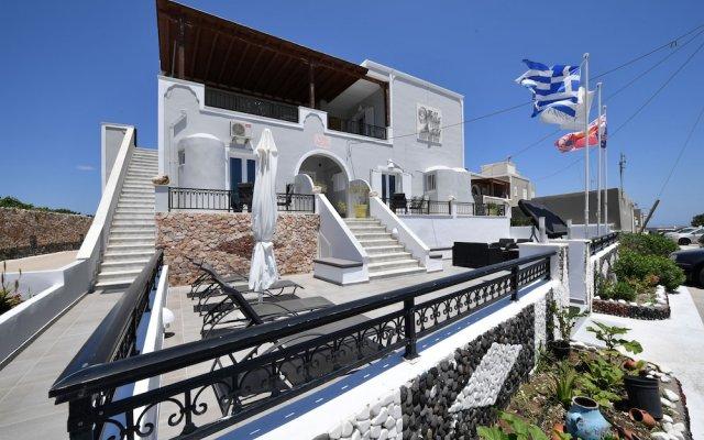 Отель Villa Agas Греция, Остров Санторини - 2 отзыва об отеле, цены и фото номеров - забронировать отель Villa Agas онлайн вид на фасад