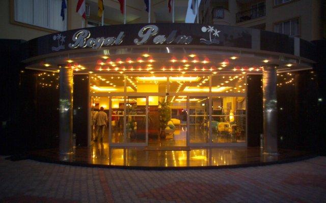 Отель Kleopatra Royal Palm Аланья вид на фасад