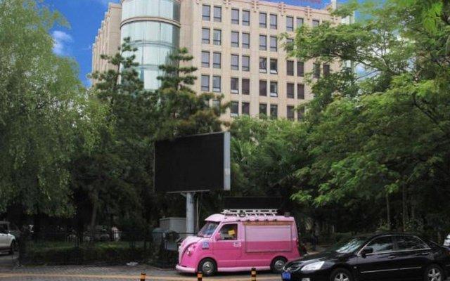 Xian Union Alliance Atravis Executive Hotel вид на фасад
