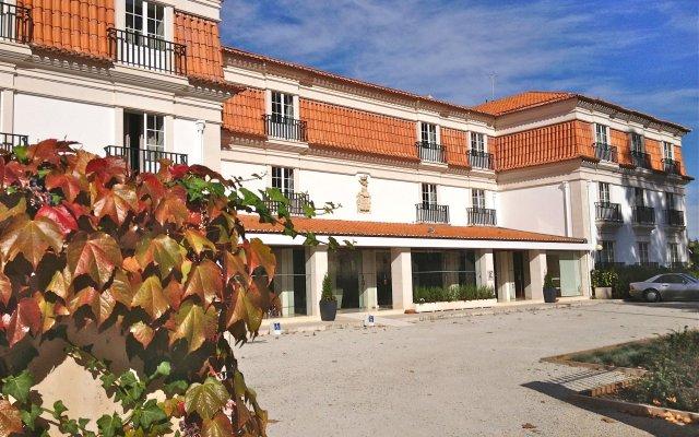 Отель Pousada de Condeixa Coimbra вид на фасад