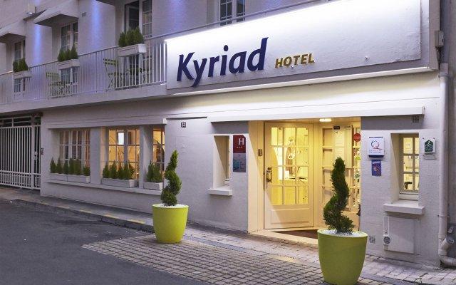 Отель Kyriad Saumur Франция, Сомюр - отзывы, цены и фото номеров - забронировать отель Kyriad Saumur онлайн вид на фасад