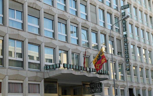 Отель Drake Longchamp Swiss Quality Hotel Швейцария, Женева - 5 отзывов об отеле, цены и фото номеров - забронировать отель Drake Longchamp Swiss Quality Hotel онлайн вид на фасад