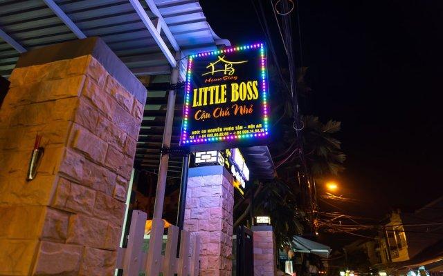 Отель Little Boss Homestay вид на фасад