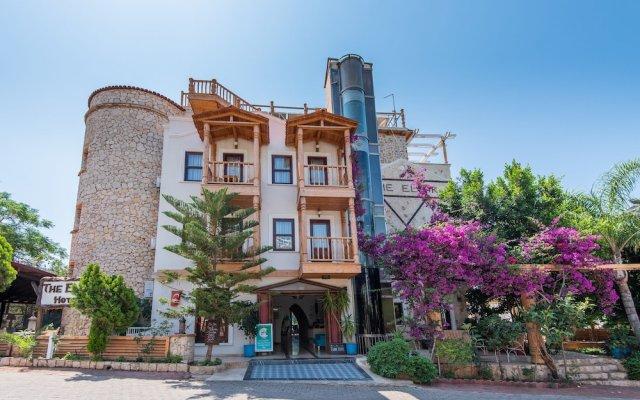 Elixir Boutique Hotel Турция, Калкан - отзывы, цены и фото номеров - забронировать отель Elixir Boutique Hotel онлайн вид на фасад