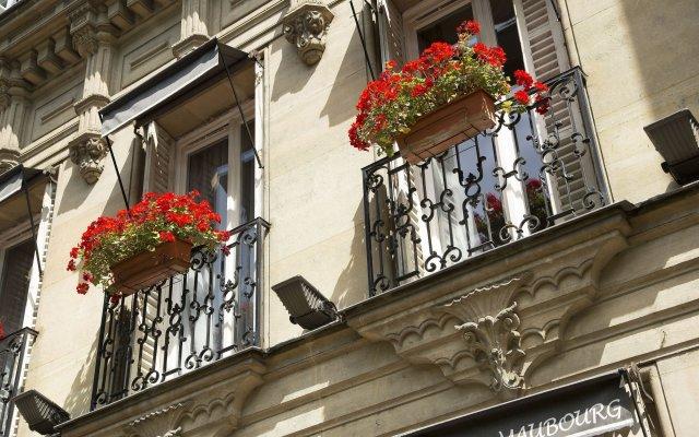 Отель De Latour Maubourg Париж вид на фасад
