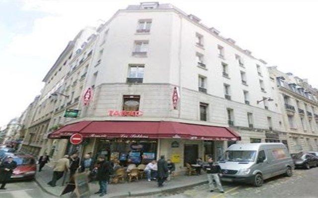 Отель Locaflat Espace Greuze Франция, Париж - отзывы, цены и фото номеров - забронировать отель Locaflat Espace Greuze онлайн вид на фасад