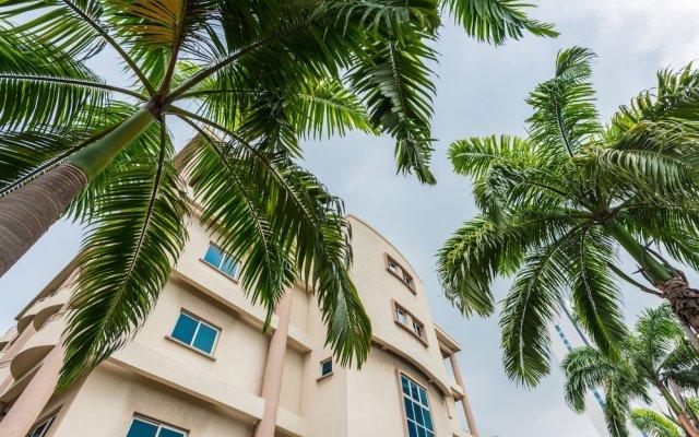 Апартаменты Park Inn By Radisson Serviced Apartments Лагос вид на фасад