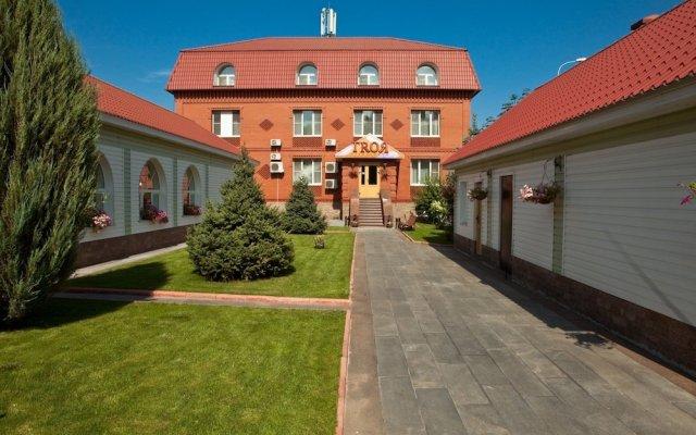 Гостиница Резиденция Троя вид на фасад
