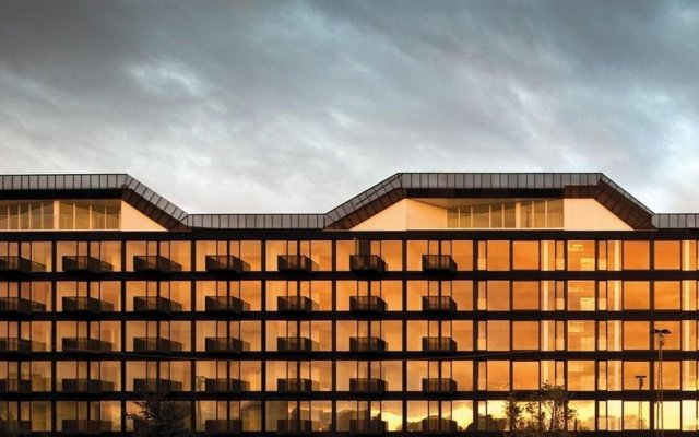 Отель STAY Copenhagen Копенгаген вид на фасад