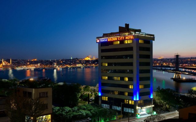 Golden City Hotel Istanbul вид на фасад