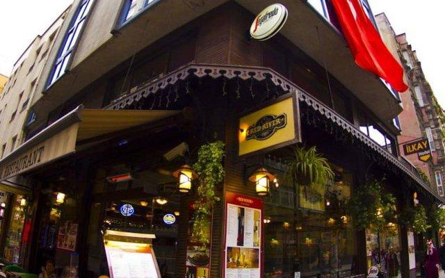Hotel Ilkay вид на фасад