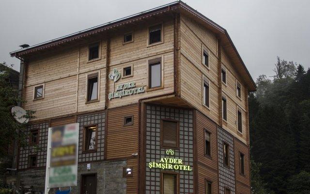 Ayder Simsir Butik Hotel вид на фасад