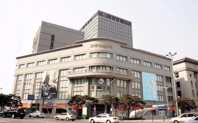 Отель The Westin Chosun Seoul Южная Корея, Сеул - отзывы, цены и фото номеров - забронировать отель The Westin Chosun Seoul онлайн вид на фасад
