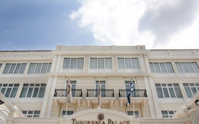 Отель Theoxenia Palace Hotel Греция, Кифисия - отзывы, цены и фото номеров - забронировать отель Theoxenia Palace Hotel онлайн вид на фасад