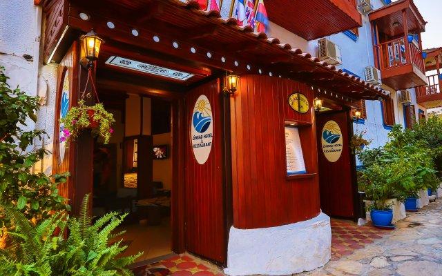 Zinbad Hotel Kalkan Турция, Калкан - 1 отзыв об отеле, цены и фото номеров - забронировать отель Zinbad Hotel Kalkan онлайн вид на фасад