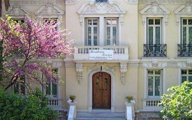Отель Appart 'hôtel Villa Léonie Франция, Ницца - отзывы, цены и фото номеров - забронировать отель Appart 'hôtel Villa Léonie онлайн вид на фасад