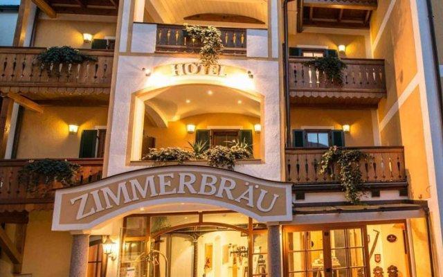 Hotel Zimmerbräu вид на фасад