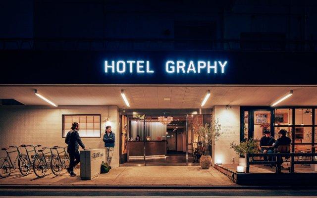 Hotel Graphy Nezu вид на фасад
