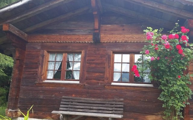 Отель Gstaad - Amazing Lake Chalet вид на фасад