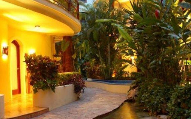 Villas Sacbe Condo Hotel and Beach Club Плая-дель-Кармен вид на фасад