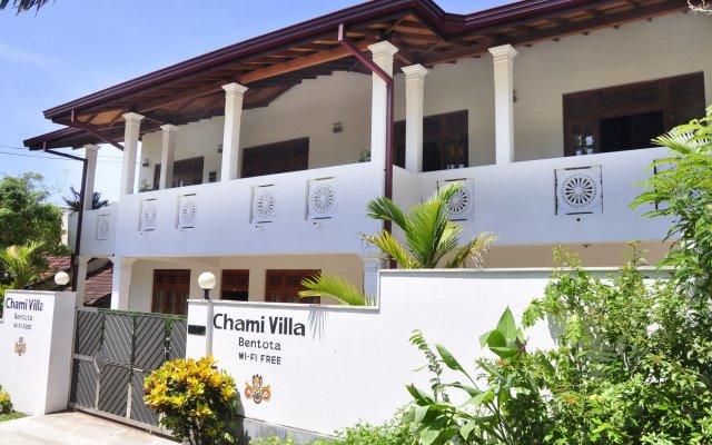 Отель Chami Villa Bentota Шри-Ланка, Бентота - отзывы, цены и фото номеров - забронировать отель Chami Villa Bentota онлайн вид на фасад