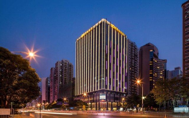 Отель Guangdong Hotel Китай, Шэньчжэнь - отзывы, цены и фото номеров - забронировать отель Guangdong Hotel онлайн вид на фасад