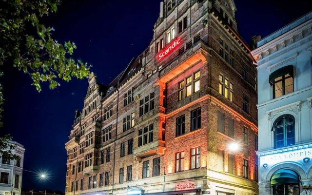 Отель Scandic Stortorget Швеция, Мальме - отзывы, цены и фото номеров - забронировать отель Scandic Stortorget онлайн вид на фасад
