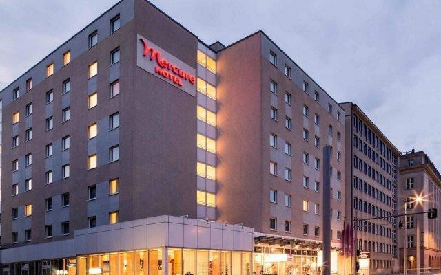 Mercure Hotel Berlin City (ex Mercure Berlin An Der Charite) Берлин вид на фасад