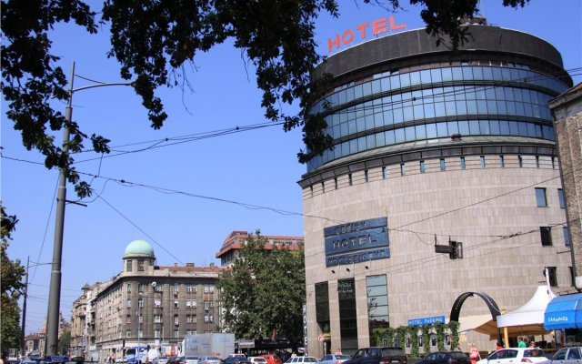 Design Hotel Mr President вид на фасад