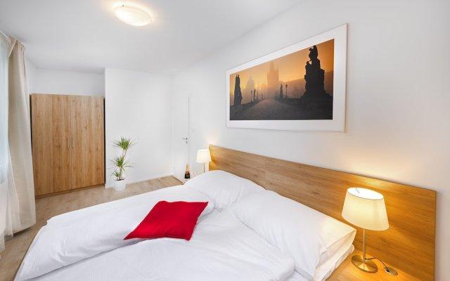 Апартаменты CityWest Apartments комната для гостей