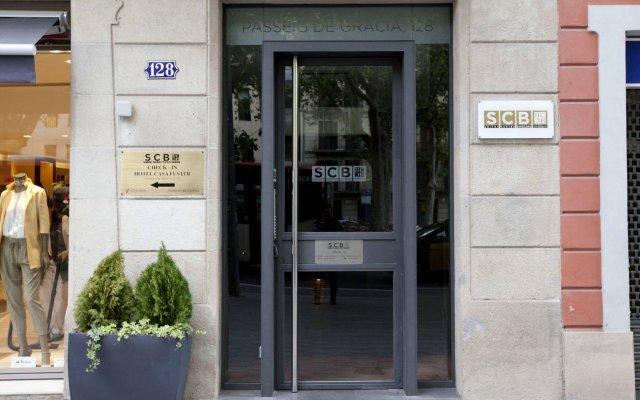 Апартаменты Suites Center Barcelona Apartments вид на фасад
