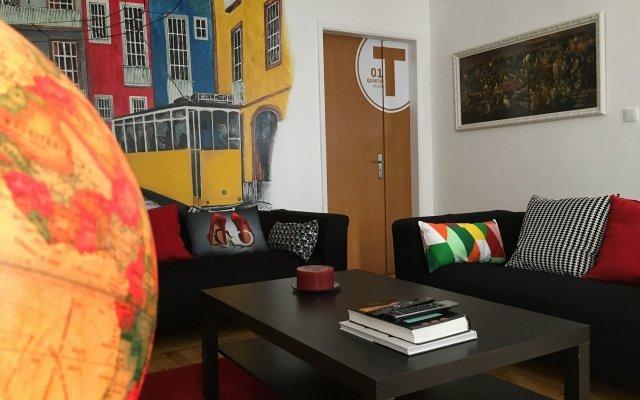 Отель Terrace Lisbon Hostel Португалия, Лиссабон - отзывы, цены и фото номеров - забронировать отель Terrace Lisbon Hostel онлайн комната для гостей