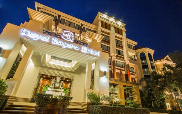 Royal Empire Hotel in Siem Reap, Cambodia from 61$, photos, reviews - zenhotels.com hotel front
