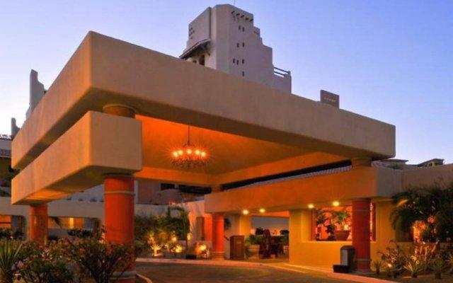 Отель Best Marina&pool View Luxe JR Suite IN Cabo Золотая зона Марина вид на фасад