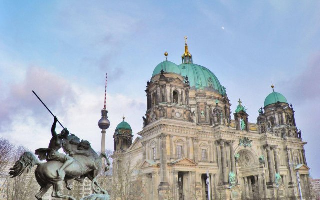 Отель BNB Brandenburg Gate Германия, Берлин - отзывы, цены и фото номеров - забронировать отель BNB Brandenburg Gate онлайн вид на фасад