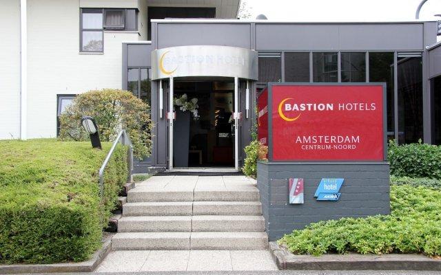 Отель Bastion Amsterdam Centrum Noord Hotel Нидерланды, Амстердам - 3 отзыва об отеле, цены и фото номеров - забронировать отель Bastion Amsterdam Centrum Noord Hotel онлайн вид на фасад