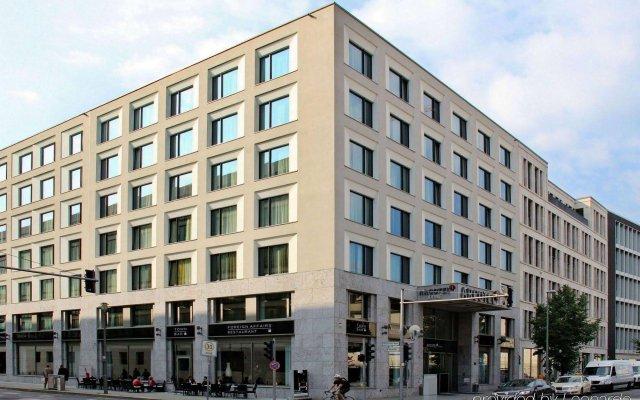 Отель ARCOTEL John F Berlin вид на фасад
