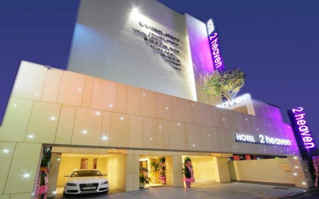 Отель 2 Heaven Jongno Южная Корея, Сеул - отзывы, цены и фото номеров - забронировать отель 2 Heaven Jongno онлайн вид на фасад