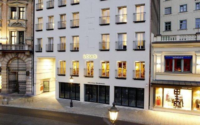 Louis Hotel вид на фасад