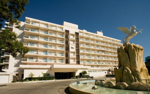 Отель Pegasos Beach вид на фасад